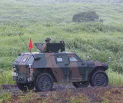 (装甲車の写真)